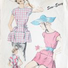 Advance 5990 vintage apron pattern size medium 14 to 16