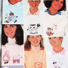 Buttons & Bows Sweatshirt cross stitch designs book II lamb cow bears
