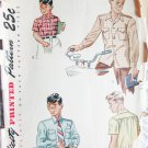 Simplicity 2049 boys shirt sewing pattern vintage size 8