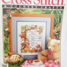 Cross stitch and Country Crafts magazine May 92 antique toys wedding sampler