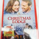DVD Christmas Lodge Thomas Kinkade new sealed