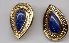 Avon Venetian Style Collection earrings-  Blue