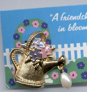 """Avon's """"you're My Favorite Hobby' Scatter Pin"""