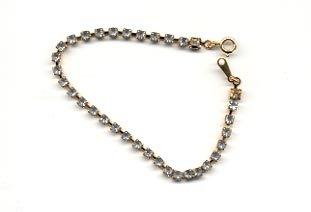 Avon  Tennis Bracelet- Rhinestone- large