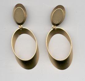 Avon  Matte Hoop Clip Earrings