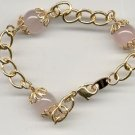 Avon Rose Quartz Bracelet 7""