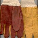 24  pr. Leather Palm Work Gloves- 2 doz.