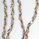 1960's Beaded 54'' Necklace (or belt)