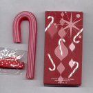 6 Avon Candy Cane  Red Soap- Peppermint-- Vintage