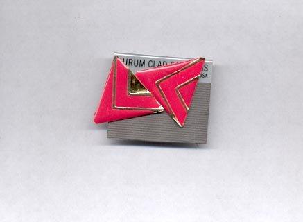 Triangle Pierced earrings (#13)