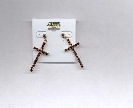 Cross Pierced earrings (# 6)