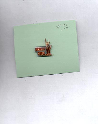 Liberty Steel   hat (lapel ) pin (#36)