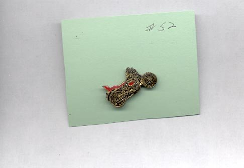 Motorcycle   hat (lapel) pin (# 52)