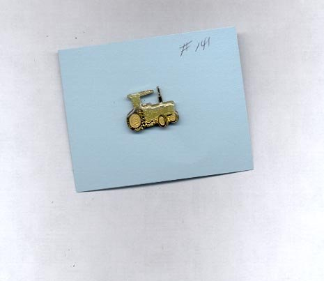 Tractor hat (lapel) pin (# 141)