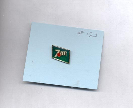 7 Up  hat (lapel ) pin (#123)