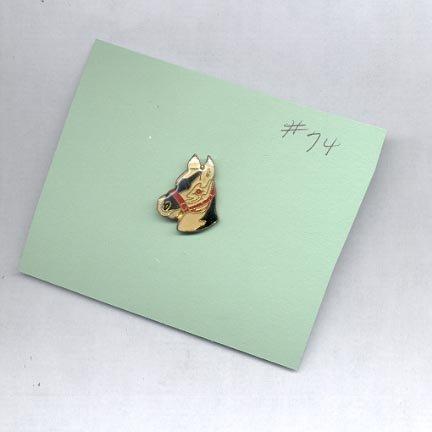 Horse Head  hat (lapel ) pin (# 74)