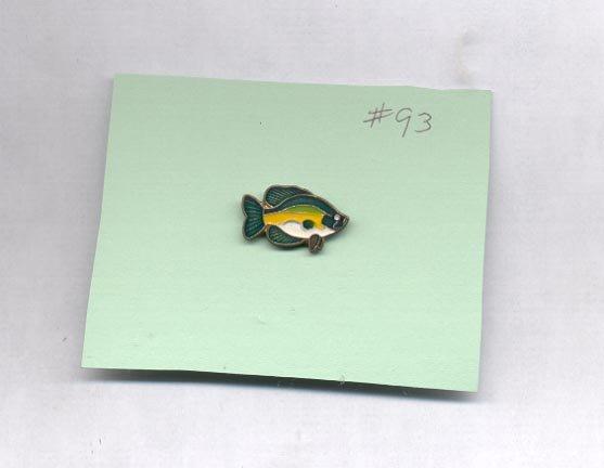Fish  hat (lapel) pin (#93)