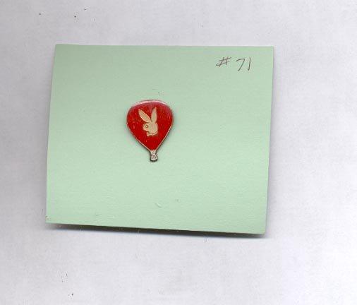 Bunny   hat (lapel) pin (#71)