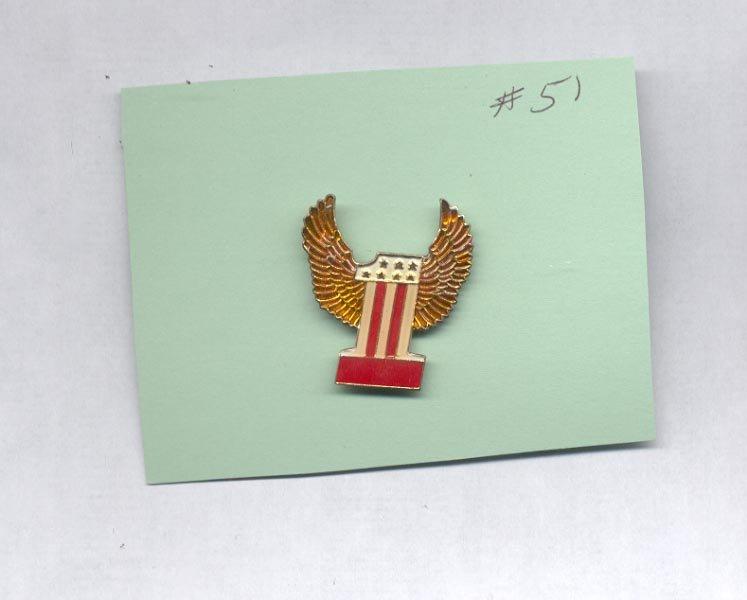 Large   hat (lapel) pin (#51)
