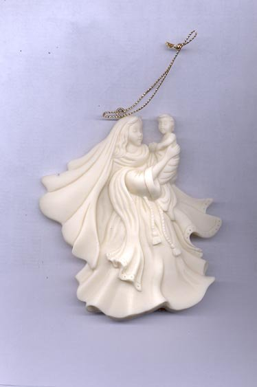 Avon Season's Joy Ornament-  Mother and Child