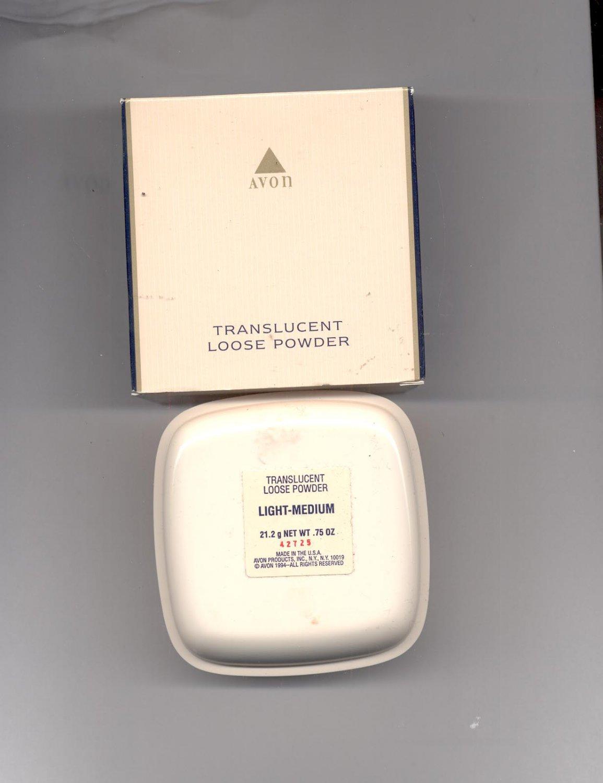 Avon Translucent Loose Powder Light Medium Vintage