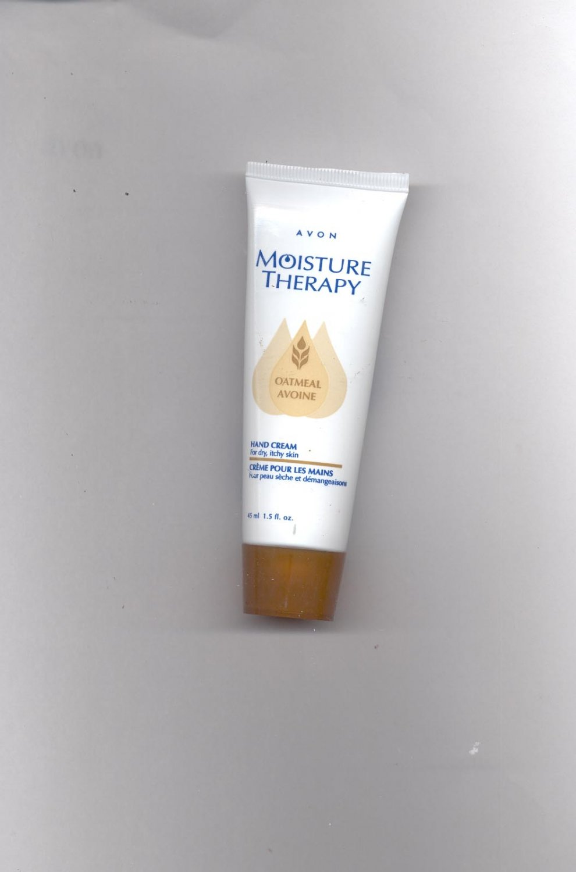 4 Avon Moisture Therapy Oatmeal Hand Cream- -- Vintage