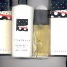 Avon CONTRAST Cologne, Bath Oil, Talc  (lot # 3)-- Vintage
