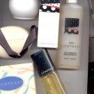 Avon CONTRAST Cologne, Soap, Skin Softener, Gel  (lot # 5)-- Vintage