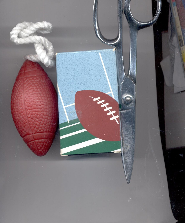 3 Avon  Trailblazer  Football Soap-On- a- Rope--- Vintage