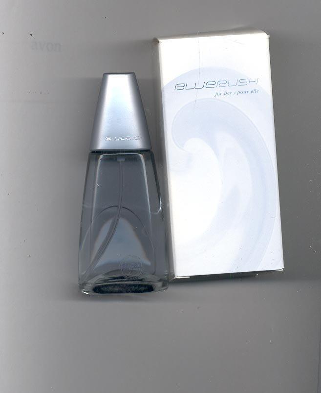 Avon BLUE RUSH for her eau de toilette spray 1.7 fl. oz.-- Vintage