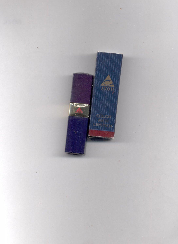 Avon Color Rich Lipstick-  Rose Velvet-VINTAGE.