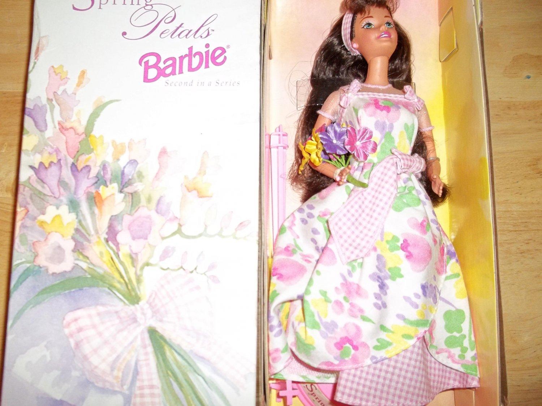 Avon SPRING PETALS BARBIE- Brunette,Caucasian