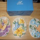 Avon BUTTERFLY PLAQUES- set of 3