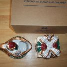 Avon SAINT NICHOLAS SUGAR AND CREAMER