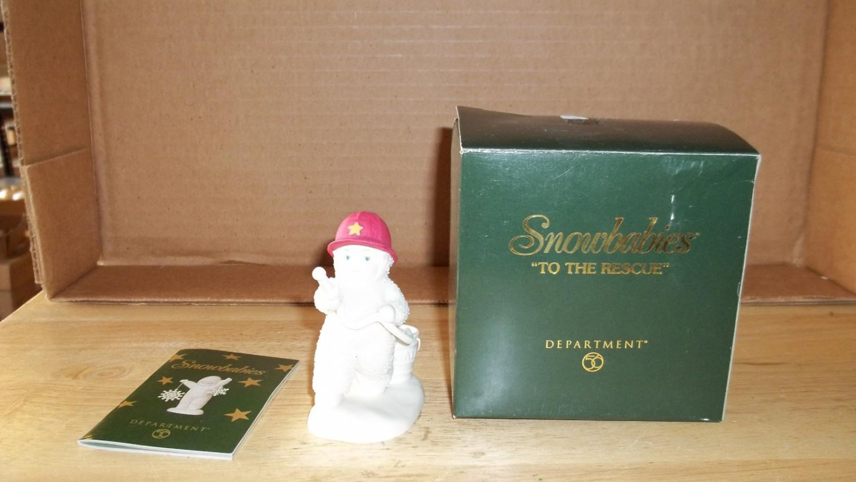 Avon 'To The Rescue' Snowbabies Figurine
