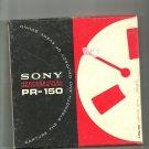 Sony  Professional Recording Tape PR-150-7 reel to reel 1800 feet  tape used (# 9)