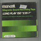 Maxell Magnetic Sound E35-7-  reel to reel 1800 feet  tape used (14)