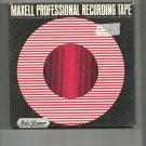 Maxell vintage Recording tape- -  reel to reel 1800 feet  tape used (#22)
