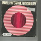 Maxell vintage  Recording tape- -  reel to reel 1800 feet  tape used (#23)