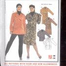 Burda pattern  8171- Ladies coat, jacket  Sizes 10-24   uncut