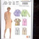 Burda pattern  8221-    Blouse - long sleeve and sleeveless  Sizes 10-24   uncut
