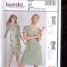 Burda pattern  8318-  dress  short sleeves and long sleeves  Sizes 10-22   uncut