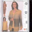 Burda pattern  8624  Blouse, shirt, top  Sizes 18-32   uncut
