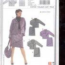 Burda pattern 8162- Suit- jacket skirt   Sizes 12-24   uncut