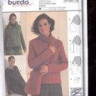 Burda pattern 8881 Pullover, jacket, bag   Size 8-20  uncut