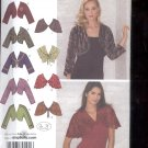 Simplicity Pattern 3921 Misses Boleros and capelets   sizes K5--8-16 uncut