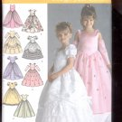 Simplicity Pattern 4764  Child's special occression dress  sizes AA- 3-6 uncut