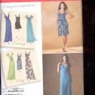 Simplicity Pattern 2647 Misses Dresses in 2 lengths  sizes  P5 12-20 uncut