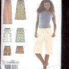 Simplicity Pattern 3796  Misses skirt , pants, or shorts   sizes  U5 16-24 uncut