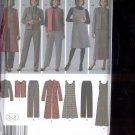 Simplicity Pattern 4789  Misses Pants, vest, Jacket   sizes  BB-  20W- 28W uncut